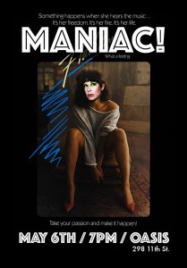 maniacflyerfrontforprint-209x300